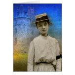 Beatriz, Francia 1916-Notecard Tarjeta De Felicitación