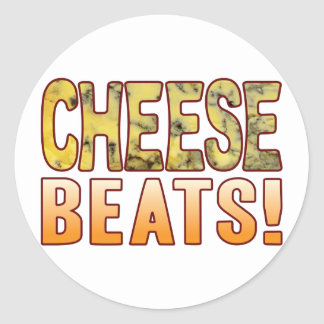 Beats Blue Cheese Classic Round Sticker
