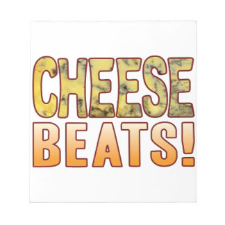 Beats Blue Cheese Notepad