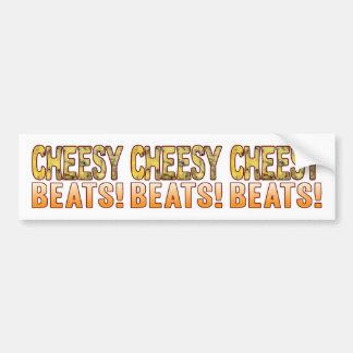 Beats Blue Cheesy Bumper Sticker