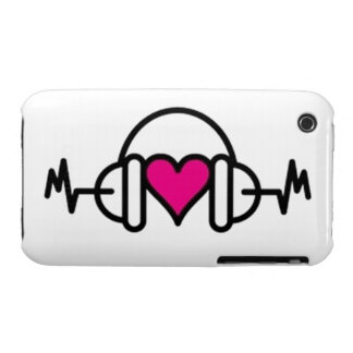 Beats of Love iPhone 3 Cases