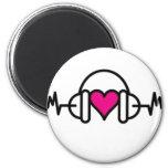 Beats of love Magnet Fridge Magnets