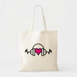 Beats of Love Tote Bag