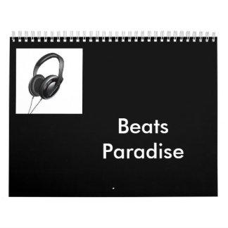 Beats Paradise Calendar