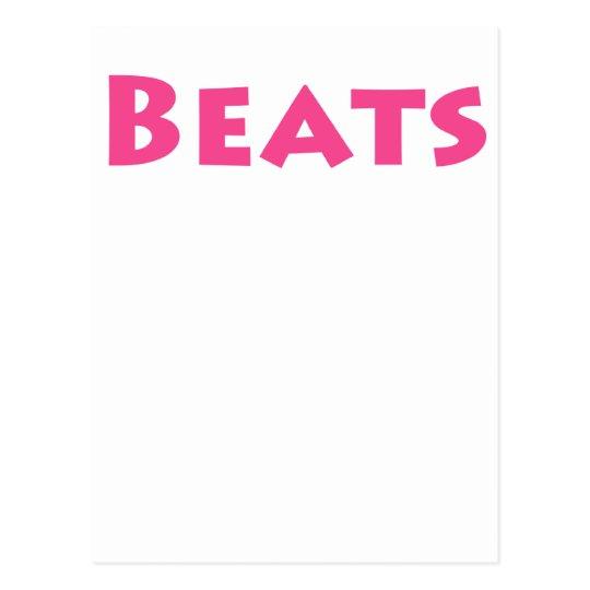 Beats Postcard