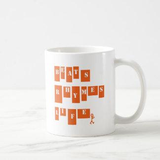 Beats Rhymes Life Coffee Mug