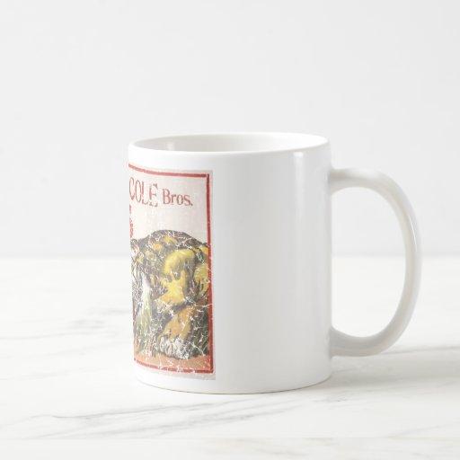 Beatty Cole Circus - 1903 - distressed Classic White Coffee Mug