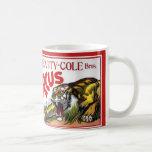 Beatty Cole Circus Classic White Coffee Mug