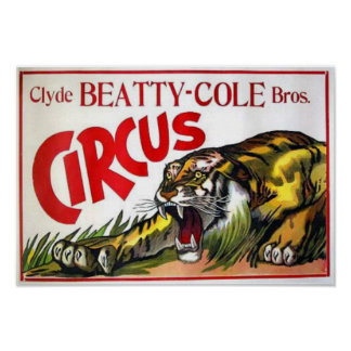 Beatty Cole Circus Posters