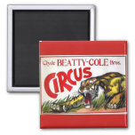 Beatty Cole Circus Refrigerator Magnet