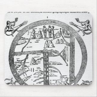 Beatus of Turin mappamundi Mouse Pad