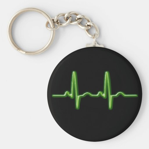 Beatz Basic Round Button Keychain