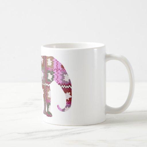 BEAU Elephant Classic White Coffee Mug