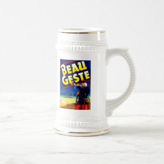 Beau Geste Brand Beer Stein