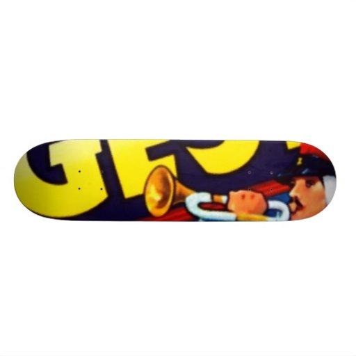 Beau Geste Brand Skate Board Deck
