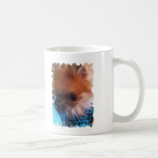 Beau-Nanna napping. Classic White Coffee Mug