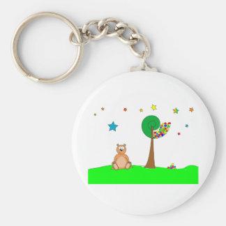 Beau the Bear Keychain