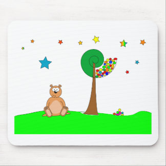 Beau the Bear Mouse Pad