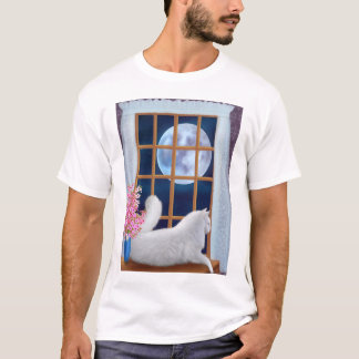 Beau the Moon Cat T-Shirt