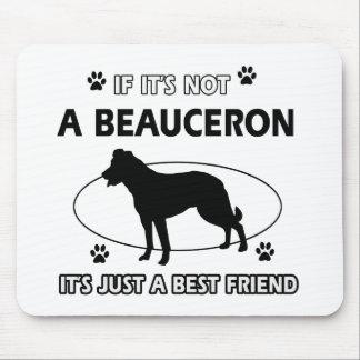 BEAUCERON best friend designs Mouse Pad