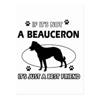 BEAUCERON best friend designs Postcard