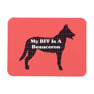 Beauceron BFF Magnet
