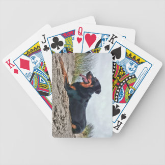 Beauceron Bicycle Playing Cards