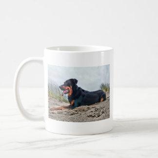 Beauceron Coffee Mug