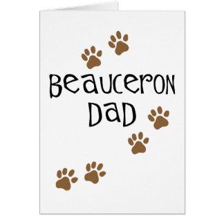 Beauceron Dad Card