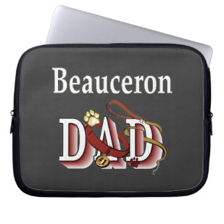 Beauceron Dad Laptop Sleeve