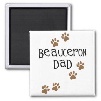 Beauceron Dad Magnet