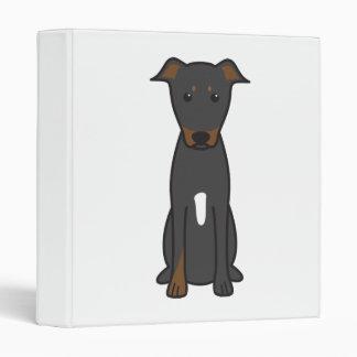 Beauceron Dog Cartoon Binder