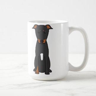 Beauceron Dog Cartoon Coffee Mug