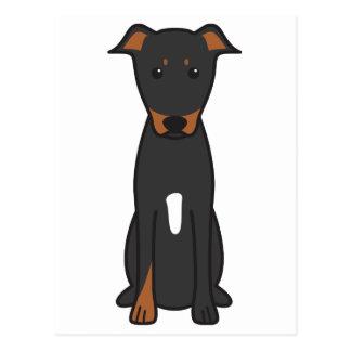 Beauceron Dog Cartoon Postcard