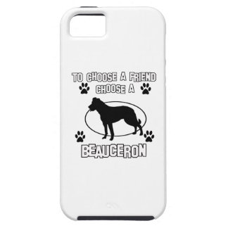 beauceron DOG designs iPhone 5 Case