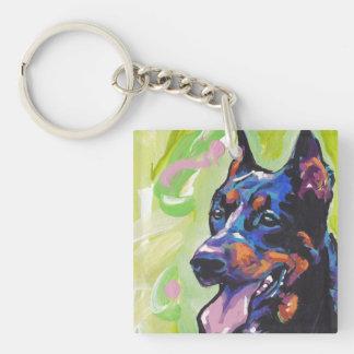 beauceron Dog Pop Art Keychain