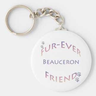 Beauceron Furever Keychain