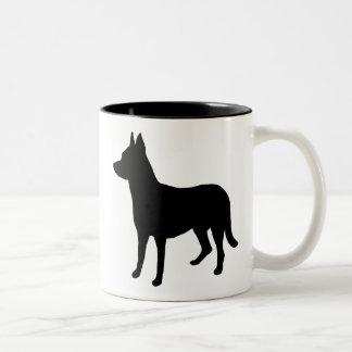 Beauceron Gear Two-Tone Coffee Mug