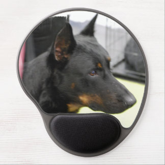 Beauceron Gel Mouse Pad