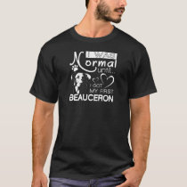 Beauceron gift t-shirt for dog lovers.