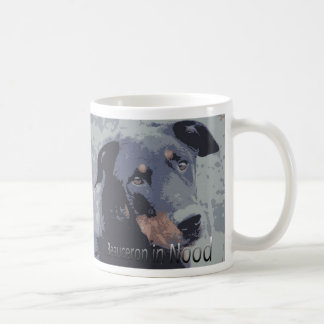 Beauceron in nood coffee mug