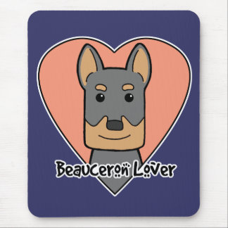 Beauceron Lover Mouse Pad