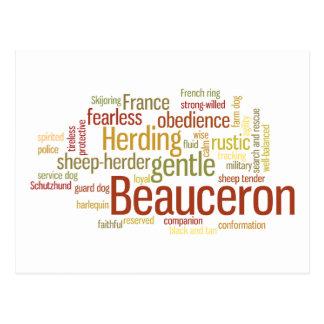 Beauceron Postcard