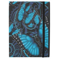 "Beaucoup Blue Morpho Butterflies iPad Pro 12.9"" Case"