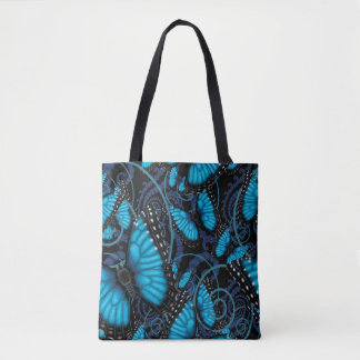 Beaucoup Blue Morpho Butterflies Tote Bag