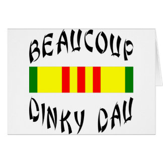 Beaucoup Dinky Dau Vietnam Greeting Cards