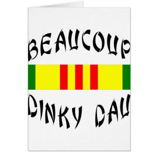 Beaucoup Dinky Dau Vietnam Cards