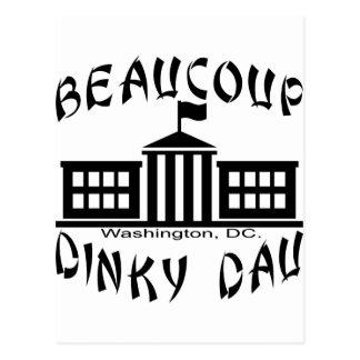 Beaucoup Dinky Dau Washington DC Post Card