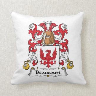 Beaucourt Family Crest Pillow