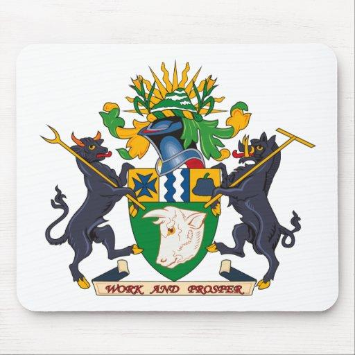 Beaudesert Coat of Arms Mousepad